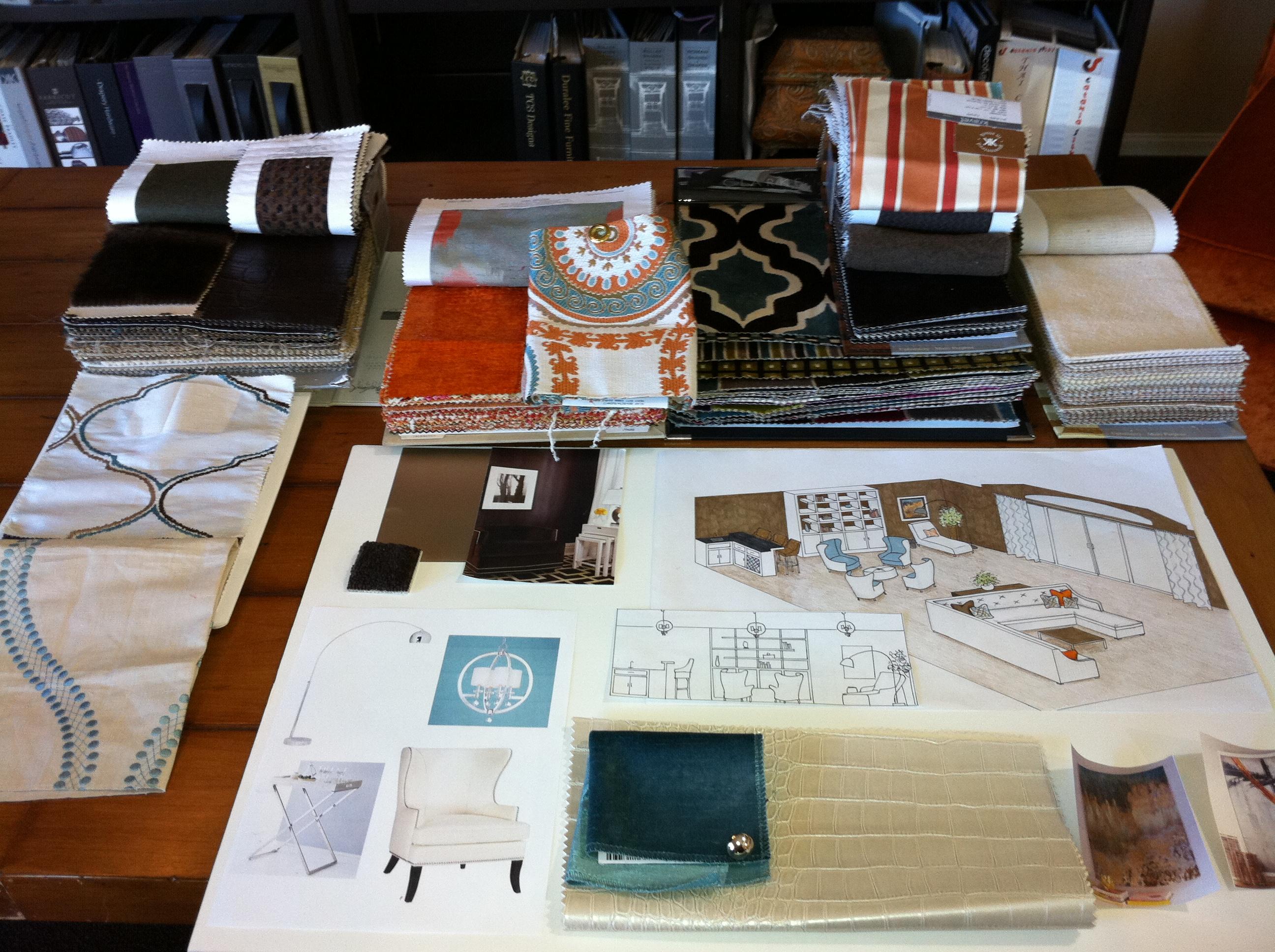 Orange Coast Interior Design Judy 39 S Custom Workroom