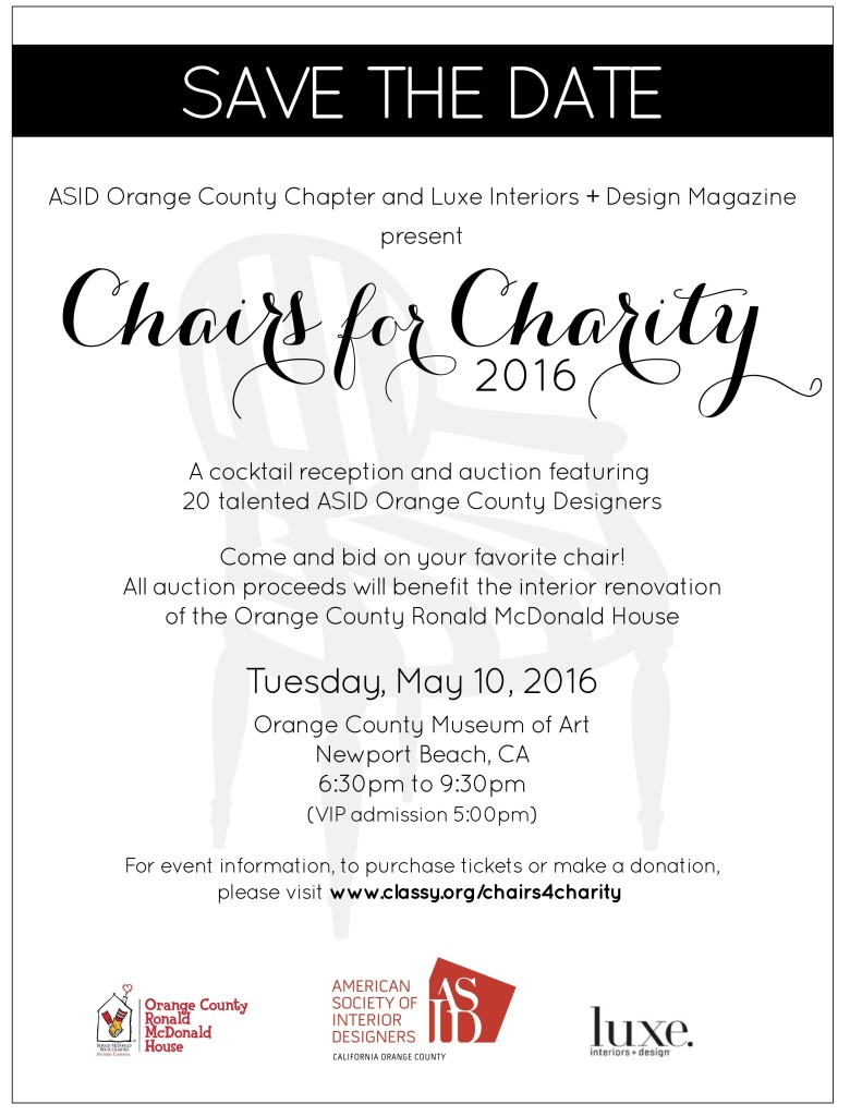 2016 Chairs for Charity Save the Date 3_1